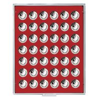 Coin box STANDARD with 42 round compartments for coins with Ø 29,5 mm  – Bild 1