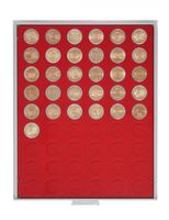 Coin box STANDARD with 54 round compartments for coins with Ø 25,75 mm, e.g. for 2 EURO coins – Bild 1