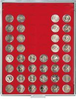 Coin box STANDARD with 54 round compartments for coins with Ø 25,75 mm, e.g. for 2 EURO coins – Bild 2