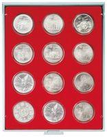 Box per monete STANDARD con 12 incavature tonde per capsule per monete con Ø 54 mm esterno – Bild 1