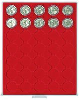 Coin box STANDARD with 35 ound compartments for coin capsules with an external Ø of 34 mm, e.g. for 5 EURO coins GERMANY in LINDNER coin capsules – Bild 3