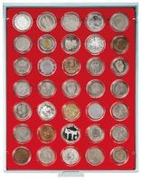 Coin box STANDARD with 35 ound compartments for coin capsules with an external Ø of 36 mm  – Bild 2