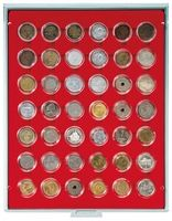 Coin box STANDARD with 42 round compartments for coin capsules with an external Ø of 29,5 mm  – Bild 1
