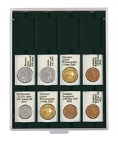 Coin box CARBO with 12 square compartments, suitable for REBECK COIN L coin holders 75 x 50 mm.  – Bild 1