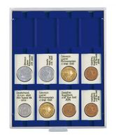 Coin box MARINE with 12 rectangular compartments, suitable for REBECK COIN L coin holders 50 x 75 mm.  – Bild 1