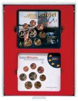 d-Box STANDARD mit rechteckigen Fächern für 2 x 5 original Euro-Kursmünzen-Sätze Deutschland in Stempelglanz (bis 2014) – Bild 1