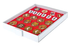 Collection Box STANDARD with a red foam insert for pins, medals, emblems etc.  – Bild 2