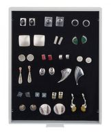 Collection Box STANDARD with a black foam insert for pins, medals, emblems etc.  – Bild 1