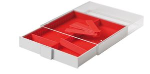 Collection Box STANDARD with 2 compartments and 10 movable dividers for individual configuration 220 x 280 x 29 mm  – Bild 4