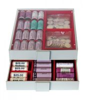 Collection Box STANDARD with 2 compartments and 10 movable dividers for individual configuration 220 x 280 x 29 mm  – Bild 6
