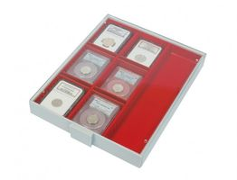 Collection Box STANDARD with 3 compartments and 8 movable dividers for individual configuration 220 x 280 x 29 mm  – Bild 1