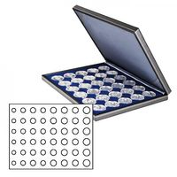NERA M coin case with a dark blue insert. Suitable for 6 EURO coin sets.  – Bild 1