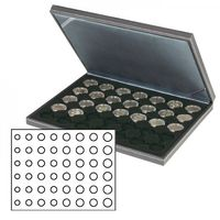 NERA M coin case with a black insert. Suitable for 6 EURO coin sets.  – Bild 1