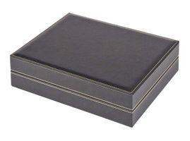 Münzkassette NERA XL mit 3 Tableaus und hellroten Münzeinlagen mit 60 quadratischen Fächern für Münzen/Münzkapseln bis Ø 47 mm  – Bild 2