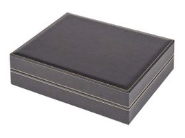 Coin case NERA XL with 3 trays and light red coin inserts for 162 coins with Ø 25,75 mm, e.g. for 2 EURO coins – Bild 3