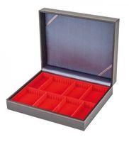 Coffret de collection NERA VARIUS avec plateau rouge vif à 2 compartiments flexibles – Bild 3