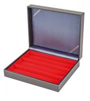 Collection case NERA VARIUS with light red insert with 3 flexible devided compartments – Bild 4