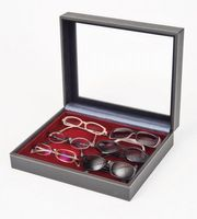 Collection case NERA VARIUS PLUS with dark red insert without compartments. – Bild 1