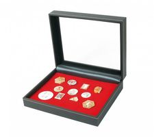 Collecting case NERA VARIUS PLUS with light red insert for pins,medals and emblems – Bild 1