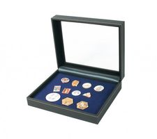 Collecting case NERA VARIUS PLUS with dark blue insert for pins,medals and emblems – Bild 1