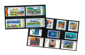 hawid Stock cards C6 with 3 Strips - pack of 100