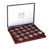Luxury Case for 40 x 10 Euro German commemorative coins in our coin capsules – Bild 2