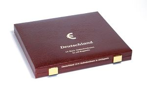 Luxury Case for 40 x 10 Euro German commemorative coins in our coin capsules – Bild 3