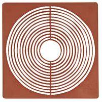 Coin box inserts 67 x 67 mm, dark red, pack of 10 – Bild 2