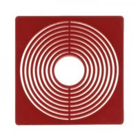 Coin box inserts 51 x 51 mm, dark red, pack of 10 – Bild 1