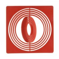 Coin box inserts 51 x 51 mm, red, pack of 10 – Bild 1