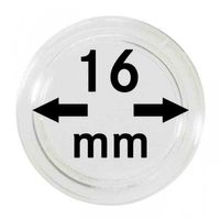 Coin capsules internal Ø 16 mm - pack of 100
