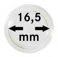 Монетные капсулы с внутренним диаметром 16,5 мм, в комплекте 100 штук