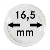 Coin capsules internal Ø 16,5 mm - pack of 10