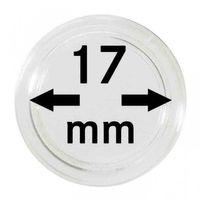 Монетные капсулы с внутренним диаметром 17 мм, в комплекте 100 штук