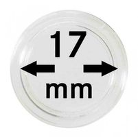 Coin capsules internal Ø 17 mm - pack of 10