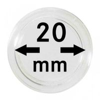 Coin capsules internal Ø 20 mm - pack of 10