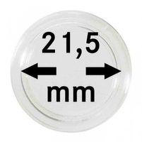 Монетные капсулы с внутренним диаметром 21,5 мм, в комплекте 100 штук