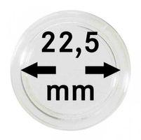 Монетные капсулы с внутренним диаметром 22,5 мм, в комплекте 100 штук