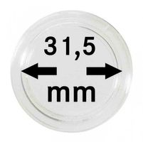 Coin capsules internal Ø 31,5 mm - pack of 10