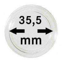 Монетные капсулы с внутренним диаметром 35,5 мм, в комплекте 100 штук
