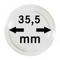 Coin capsules internal Ø 35,5 mm - pack of 10