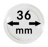 Coin capsules internal Ø 36 mm - pack of 100