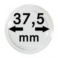 Coin capsules internal Ø 37,5 mm - pack of 100