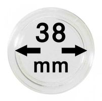 Coin capsules internal Ø 38 mm - pack of 10
