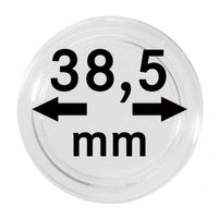 Coin capsules internal Ø 38,5 mm - pack of 100