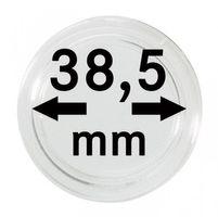 Монетные капсулы с внутренним диаметром 38,5 мм, в комплекте 100 штук