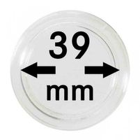 Coin capsules internal Ø 39 mm - pack of 100