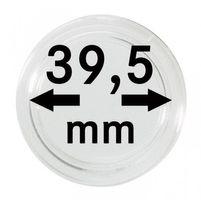 Монетные капсулы с внутренним диаметром 39,5 мм, в комплекте 100 штук