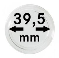 Coin capsules internal Ø 39,5 mm - pack of 10