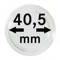 Монетные капсулы с внутренним диаметром 40,5 мм, в комплекте 100 штук